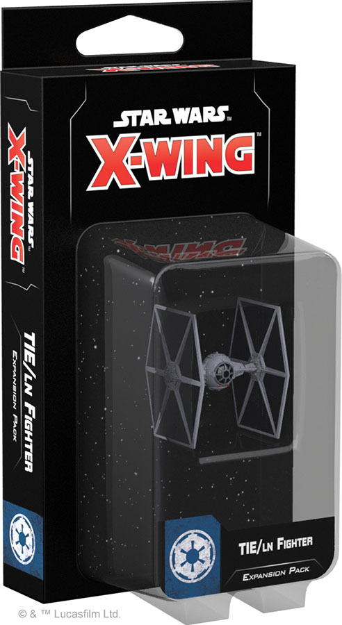 Star Wars X-wing: 2nd Edition - Tie/ln Fighter Expansion Pack Box Front