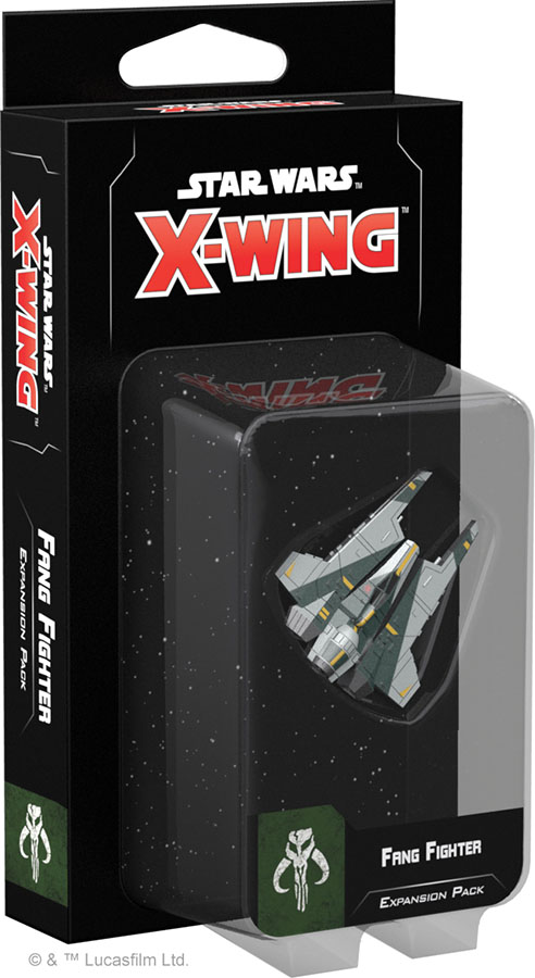 Star Wars X-wing: 2nd Edition - Fang Fighter Expansion Pack Box Front