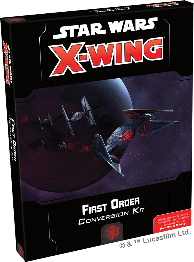 Star Wars X-wing: 2nd Edition - First Order Conversion Kit Game Box