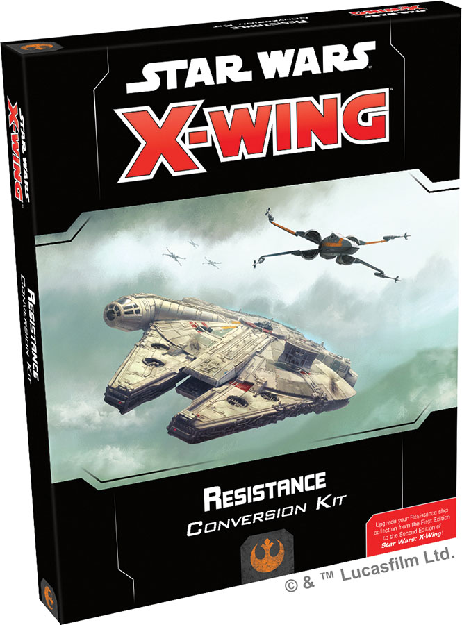 Star Wars X-wing: 2nd Edition - Resistance Conversion Kit Game Box