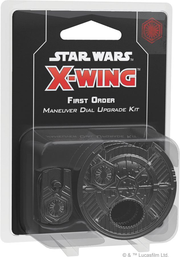 Star Wars X-wing: 2nd Edition - First Order Maneuver Dial Upgrade Kit Game Box