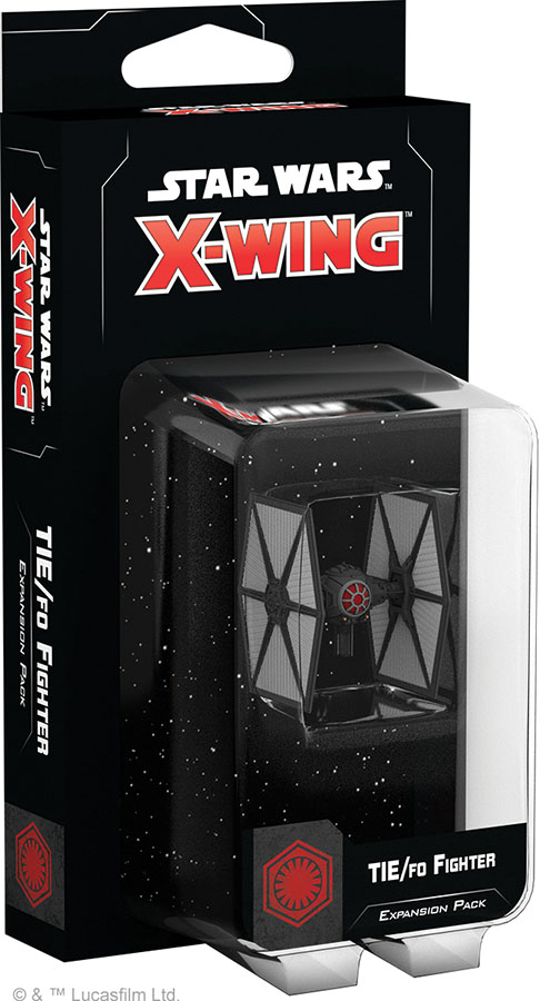 Star Wars X-wing: 2nd Edition - Tie/fo Fighter Expansion Pack Game Box