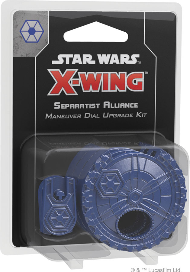 Star Wars X-wing: 2nd Edition - Separatist Alliance Maneuver Dial Upgrade Kit Game Box