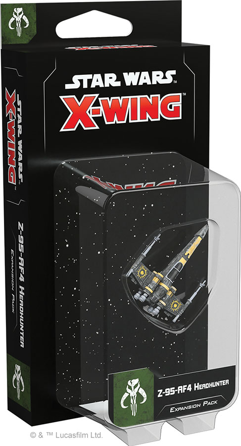 Star Wars X-wing: 2nd Edition - Z-95-af4 Headhunter Expansion Pack Game Box
