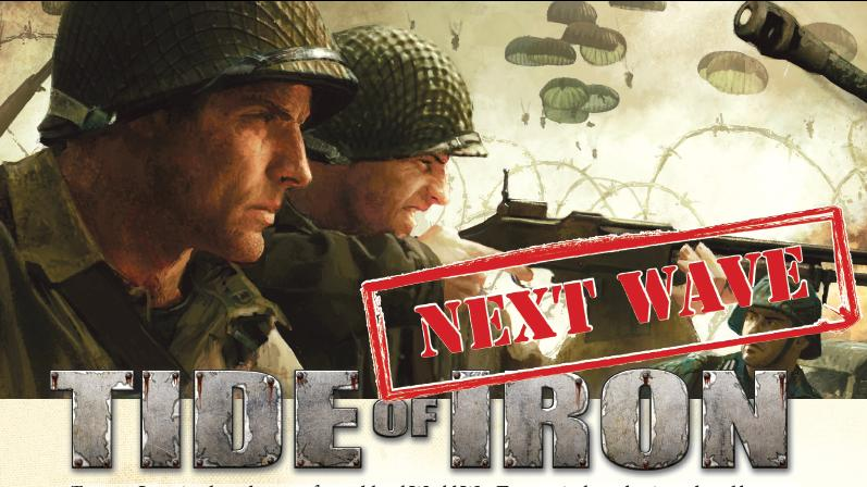 Tide Of Iron: Next Wave Box Front