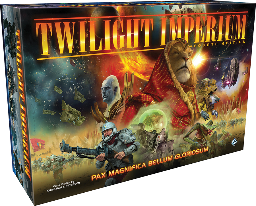 Twilight Imperium 4th Edition Box Front