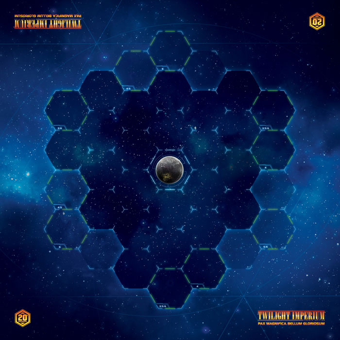 Twilight Imperium 4th Edition: Galactic Playmat Box Front