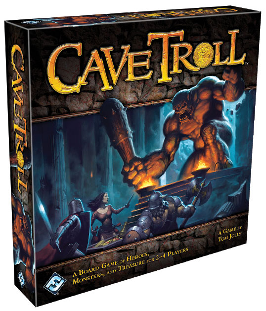 Cave Troll Box Front