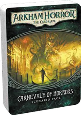 Arkham Horror Lcg: Carnevale Of Horrors Scenario Pack Box Front