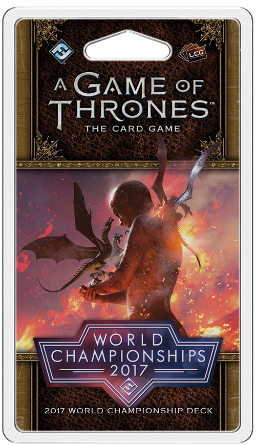 A Game Of Thrones Lcg: 2nd Edition - 2017 World Championship Deck Box Front