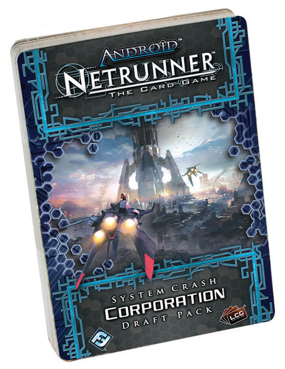 Android Netrunner Lcg: System Crash Corp Draft Pack Box Front