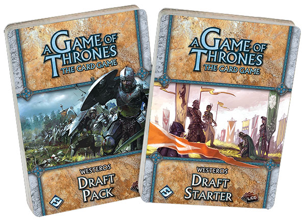A Game Of Thrones Lcg: Westeros Draft Starter Box Front