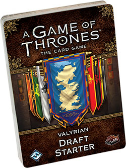 A Game Of Thrones Lcg: 2nd Edition - Valyrian Draft Starter Box Front