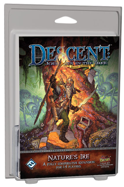 Descent Journeys In The Dark 2nd Edition: Nature`s Ire Expansion Box Front