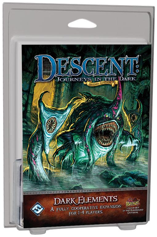 Descent Journeys In The Dark 2nd Edition: Dark Elements Box Front