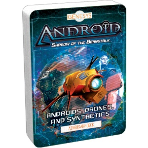 Genesys Rpg: Adversary Deck - Androids, Drones, And Synthetics Game Box