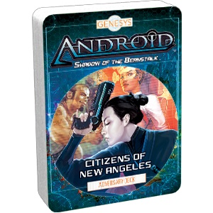 Genesys Rpg: Adversary Deck - Citizens Of New Angeles Game Box