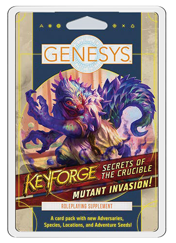 Genesys Rpg: Roleplaying Supplement Pack - Secrets Of The Crucible: Mutant Invasion!