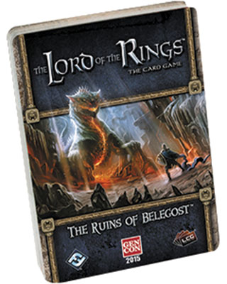 The Lord Of The Rings Lcg: The Ruins Of Belegost Standalone Quest Box Front