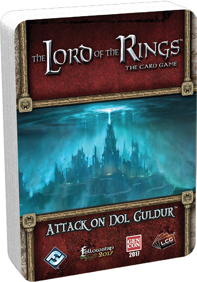 The Lord Of The Rings Lcg: Attack On Dol Guldur Standalone Quest Box Front