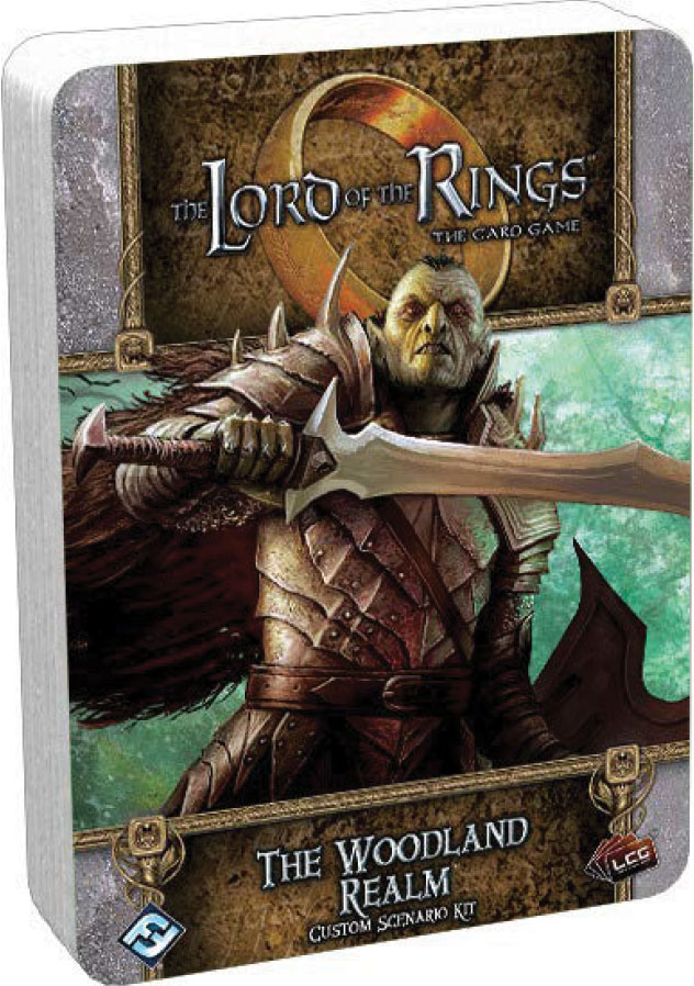 The Lord Of The Rings Lcg: The Woodland Realm Custom Scenario Kit Game Box