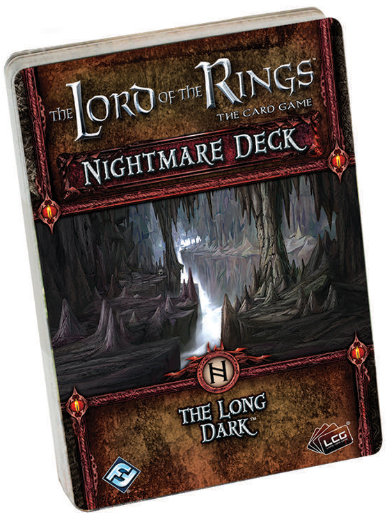 The Lord Of The Rings Lcg: The Long Dark Nightmare Deck Box Front