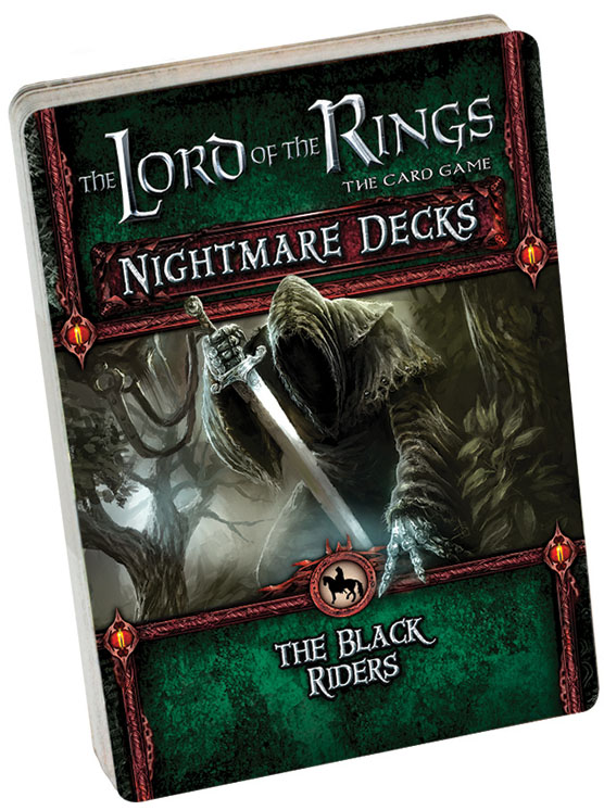 The Lord Of The Rings Lcg: The Black Riders Nightmare Decks Box Front