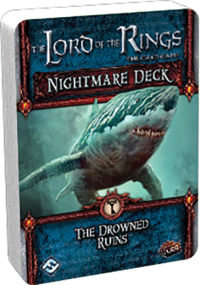 The Lord Of The Rings Lcg: The Drowned Ruins Nightmare Deck Box Front