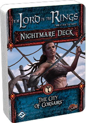 The Lord Of The Rings Lcg: The City Of Corsairs Nightmare Deck Box Front
