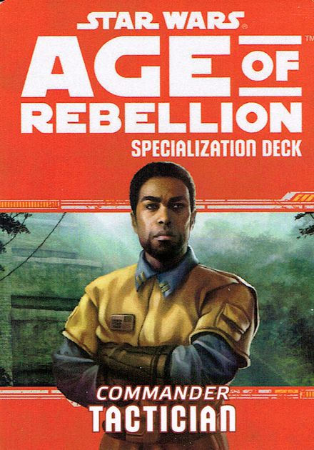 Star Wars Rpg: Age Of Rebellion - Tactician Specialization Deck