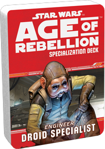 Star Wars Rpg: Age Of Rebellion - Droid Specialist Specialization Deck Box Front
