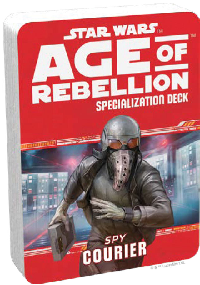 Star Wars Rpg: Age Of Rebellion - Courier Specialization Deck Game Box