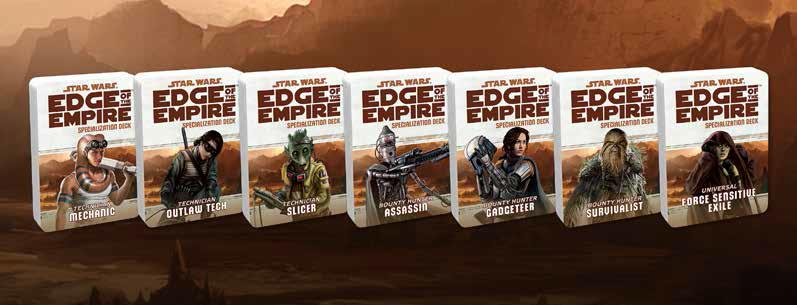 Star Wars Rpg: Edge Of The Empire - Outlaw Tech Specialization Deck Box Front