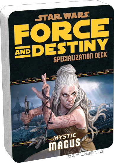 Star Wars Rpg: Force And Destiny - Mystic Magus Specialization Deck Box Front