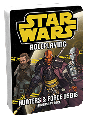 Star Wars Rpg: Hunters And Force Users Deck Box Front