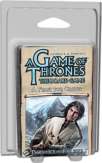 A Game Of Thrones Board Game: A Feast For Crows Expansion Box Front