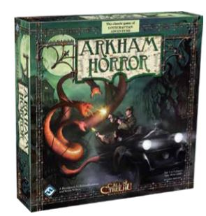 Arkham Horror Board Game Box Front