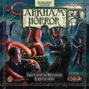 Arkham Horror: Dunwich Horror Expansion Box Front