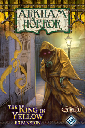 Arkham Horror: King In Yellow Expansion Box Front