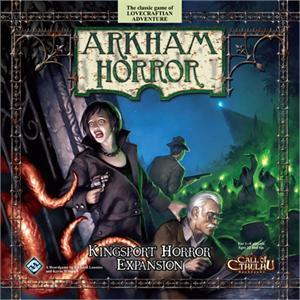 Arkham Horror: Kingsport Horror Expansion Box Front