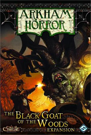 Arkham Horror: Black Goat Of The Woods Expansion Box Front