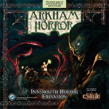 Arkham Horror: Innsmouth Horror Expansion Box Front