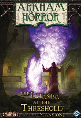Arkham Horror: Lurker At The Threshold Expansion Box Front