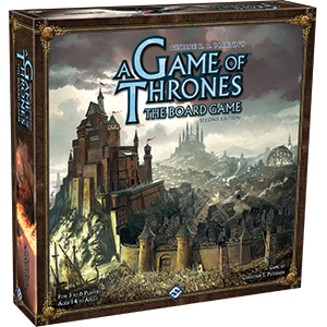 A Game Of Thrones Board Game: 2nd Edition Box Front