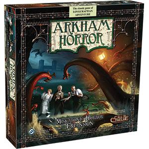 Arkham Horror: Miskatonic Horror Expansion Box Front