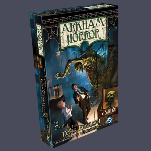Arkham Horror: Curse Of The Pharaoh Revised Expansion Box Front