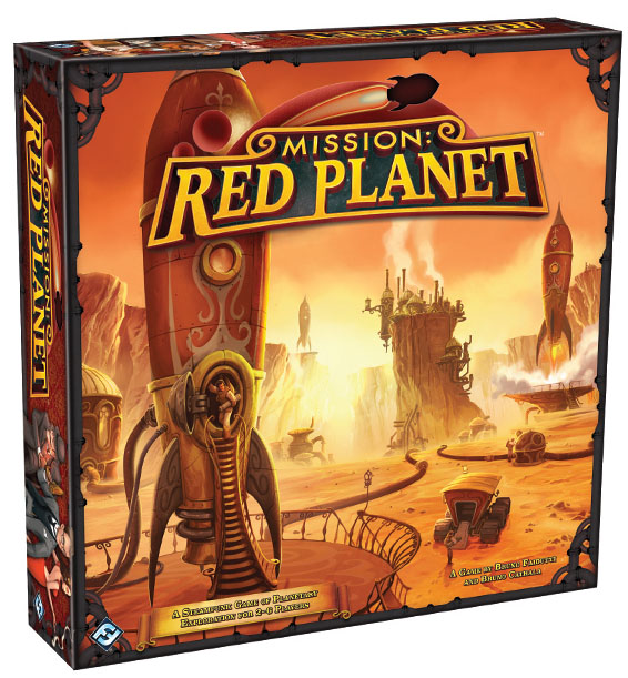 Mission: Red Planet Box Front