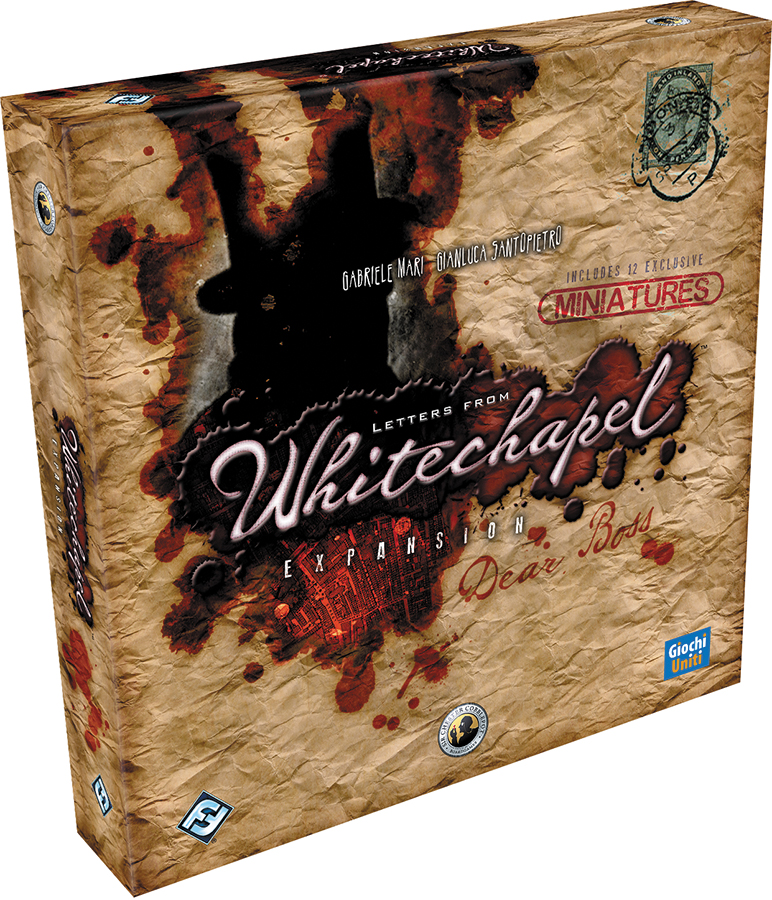 Letters From Whitechapel: Dear Boss Expansion Box Front