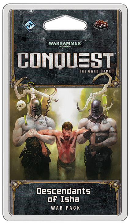 Warhammer 40k Conquest Lcg: Descendents Of Isha War Pack Box Front