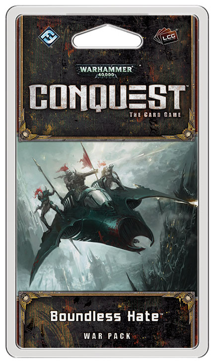 Warhammer 40k Conquest Lcg: Boundless Hate War Pack Box Front